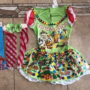 Women's Candyland costume